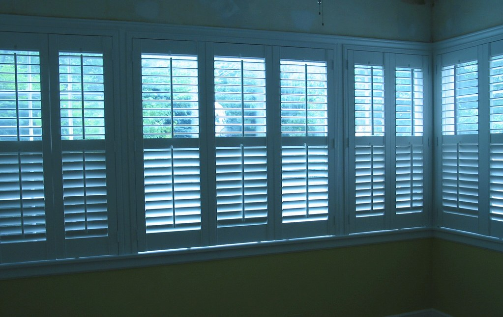 What's the difference between shutters and blinds?